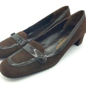 Salvatore Ferragamo Heels Pumps 8.5 4A